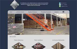 Akros S.R.L – Almacenaje Industrial