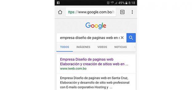 ¿Cómo posicionar mi sitio web en las búsquedas de Google?